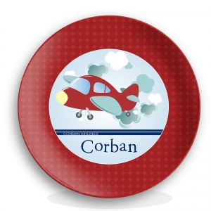 Airplane Personalized Plate High Flyer