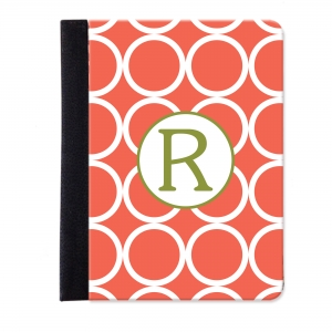 Hoops Monogrammed iPad Folio Jacket
