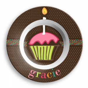 Sugary Sweet Girls Personalized Bowl