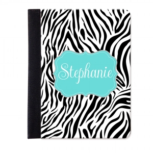 Zebra Personalized iPad Mini Jacket