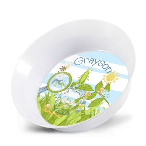 Bugz Personalized Melamine Bowl