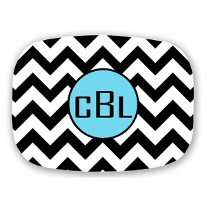 Chevron Personalized Platter
