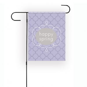 Petals Personalized Garden Flag