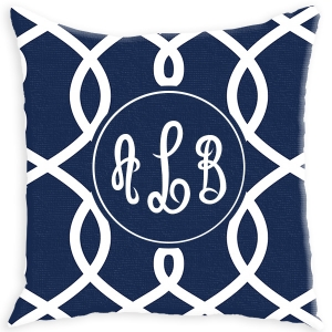 Loop Pattern Personalized Couch Pillow