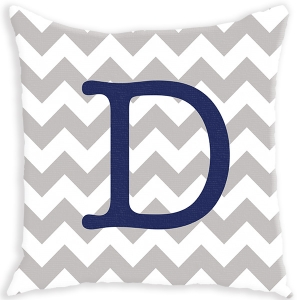 Chevron Personalized Throw Pillow