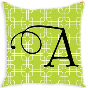 Links Pattern Personalized Couch Pillow