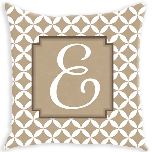 Mod Pattern Personalized Couch Pillow