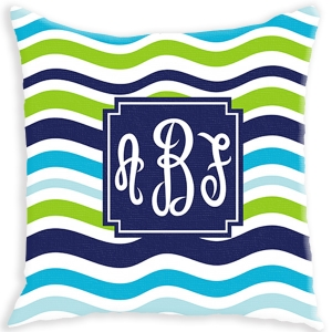 matching indoor/outdoor pillow