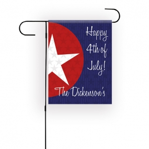 Stars Personalized Garden Flag