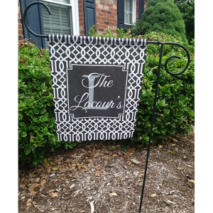 Trellis Garden Flag Photo