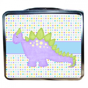 Dinosaur Lunchbox back