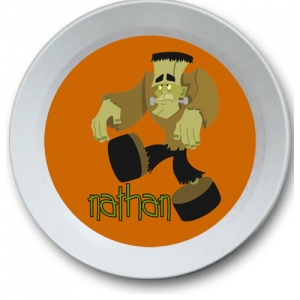 Frank N Stein Personalized Halloween Bowl