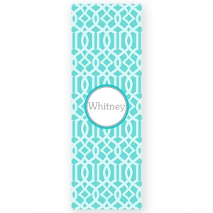 Lattice Print Personalized Yoga Mat