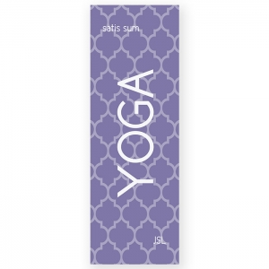 Moroccan Print Personalized Yoga Mat