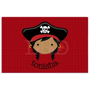 Pirate Face Placemat {sold separately}