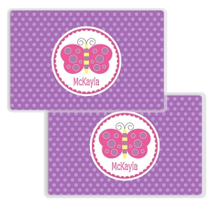 Butterfly Girls Personalized Placemat