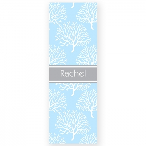 Coral Pattern Personalized Yoga Mat