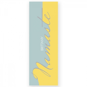 Namaste Personalized Yoga Mat