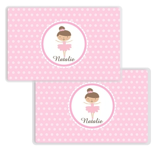 Ballerina Personalized Place Mat