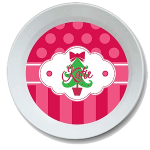 Oh Christmas Tree Personalized Kids Bowl