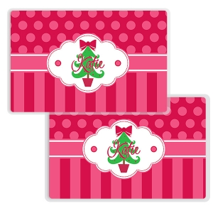 Oh Christmas Tree Personalized Kids Placemat