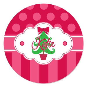 Oh Christmas Tree Personalized Kids Christmas Plate