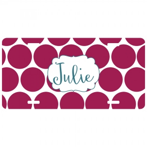 Big Dot Personalized Car Tag - Decoritive License Plate