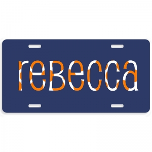 Collegiate Personalized Car Tag - Decorative License Plate