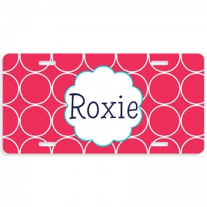 Hoops Personalized Car Tag - Decorative License Plate
