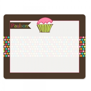 Sugary Sweet Dry Erase Board