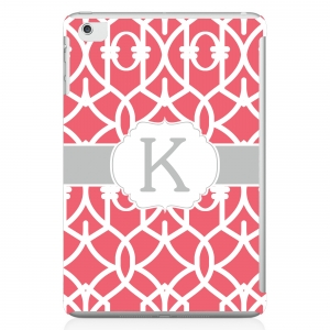 Trellis Print Personalized iPad Mini Case