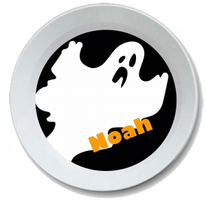 Ghost Personalized Halloween Bowl