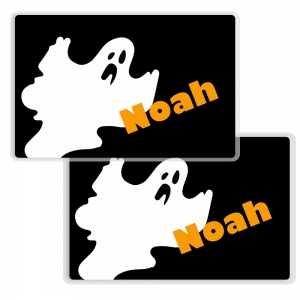 Ghost Personalized Halloween Placemat