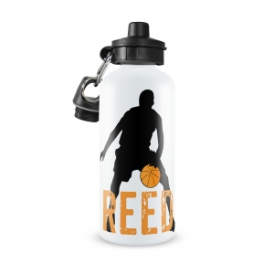 Basketball Player Name Personalized Water Bottle