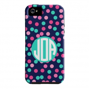Confetti Dot Personalized Phone Case
