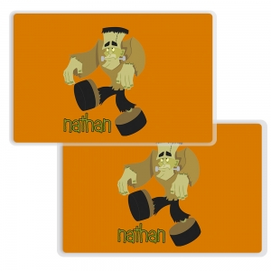 Frank N Stein Personalized Halloween Placemat