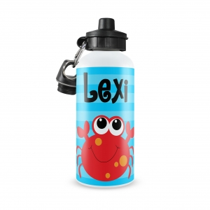 Crab Personalized Water Bottle