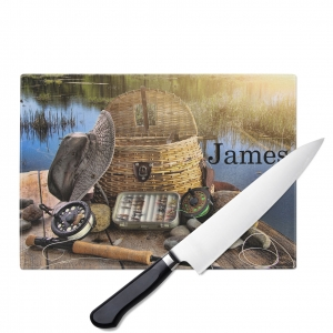 Colorado Flag Personalized Cutting Board
