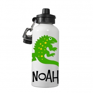 Lizzard Personalized Kids Water Bottle