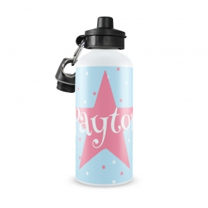 Star Personalized Water Bottle, Custom Star Water Bottle