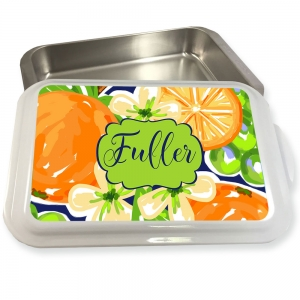 Orange Blossoms Pattern Cake or Casserole Pan