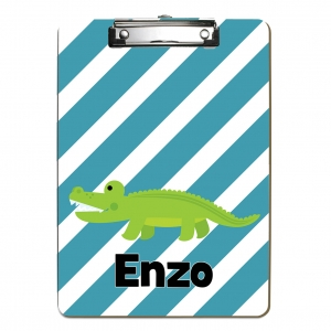 Alligator Kids Personalized Clipboard