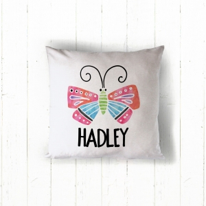 Butterfly Personalized Pillow