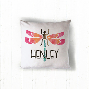 Dragonfly Personalized Pillow