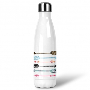 Arrows Custom Personalized Water Bottle Sports Bottle