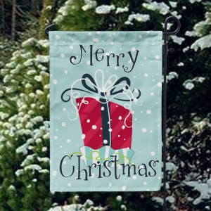 Merry Christmas Whimsical Gift Custom Garden Flag