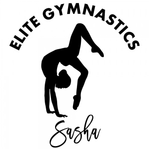 Gymnastics Decal