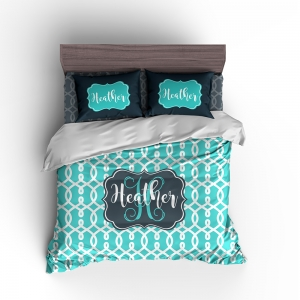 Serendipity Personalized Bedding Set Personalized Duvet or Comforter