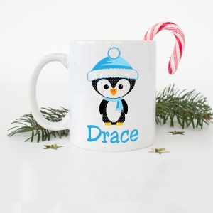 Penguin Boys Coffee Mug