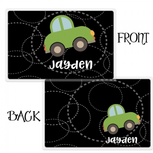 Personalized Boys Placemant - Roadster